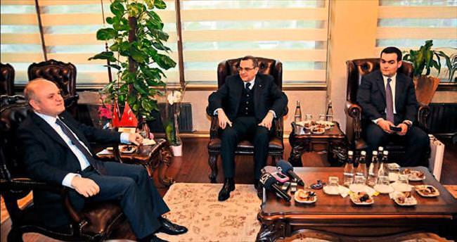 Büyükelçi Bagirov Çakacak'la buluştu
