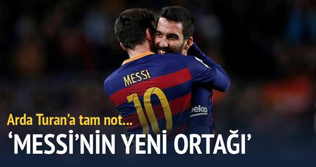 Messi'nin yeni ortagı