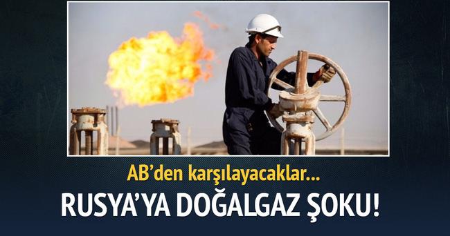 Ukrayna'dan Rusya'ya doğalgaz şoku!