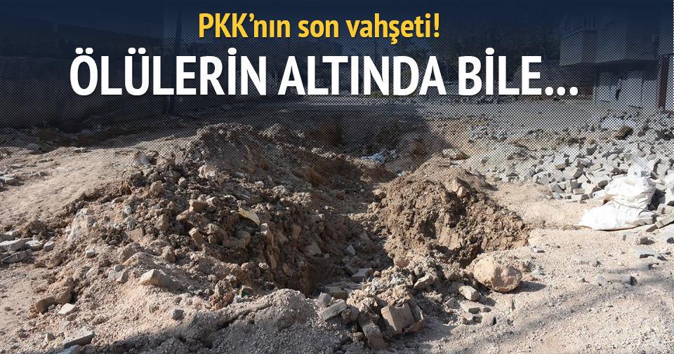 Bakan Ala: PKK ölülerin altına bomba yerleştiriyor