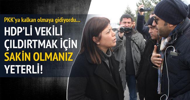 HDP'li vekil polis amirinin karşısında çıldırdı!