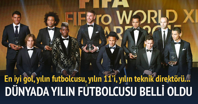 Messi Ballon d'Or ödülünü kazandı