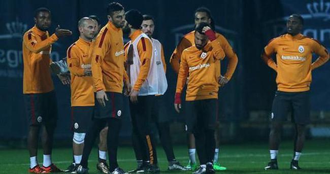 Galatasaray idmanında olay çıktı
