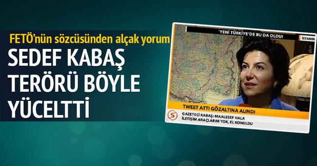 FETÖ sözcüsü Sedef Kabaş'tan terörü yücelten tweet