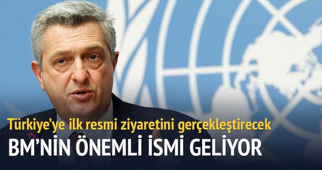 BM Mülteciler Yüksek Komiseri Türkiye'ye geliyor