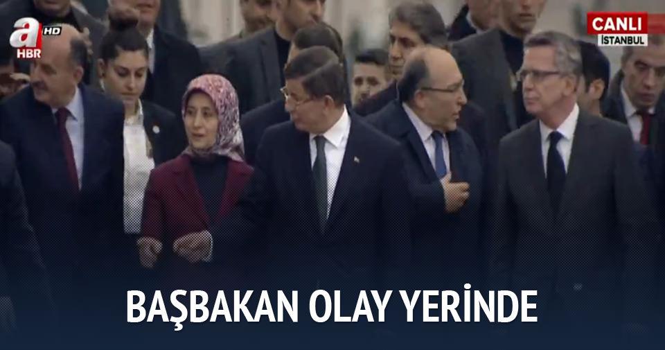 Başbakan Davutoğlu Sultanahmet'te