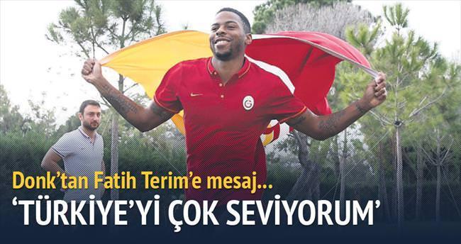 Türkiye'yi çok seviyorum
