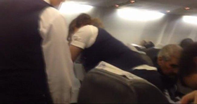 Diyarbakır uçağında 'silah' paniği !