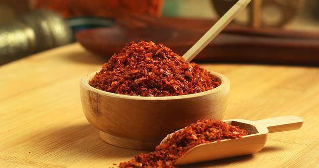 Kışın kilo almamak için kırmızı biber yiyin