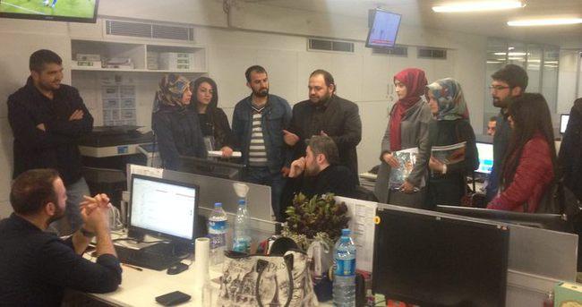 İstanbul Medya Akademisi sabah.com.tr'yi ziyaret etti