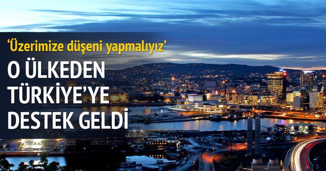 Norveçli Bakan: Türkiye, Suriyeli mülteciler konusunda yalnız bırakılmamalı