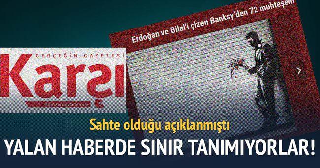 Karşı Gazete'den bir yalan haber daha!