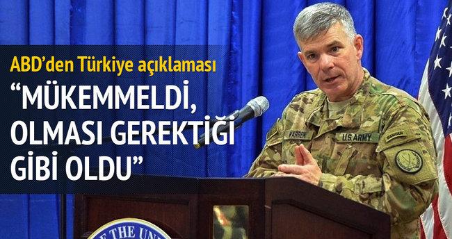 ABD'den Türkiye açıklaması: Mükemmeldi
