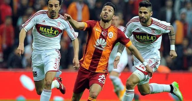 Galatasaray ile Sivasspor 22. maça çıkıyor