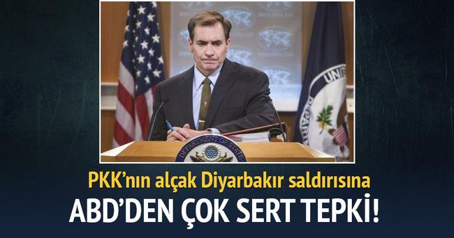 ABD'den Diyarbakır saldırısı açıklaması