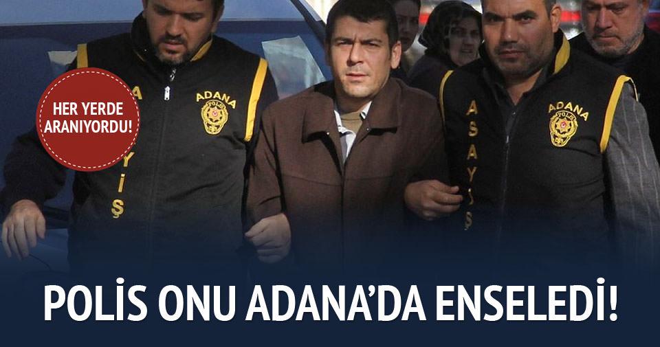 Cinayet hükümlüsü Adana polisinden kaçamadı