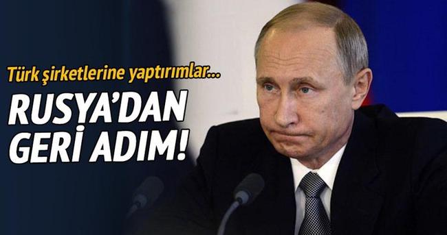 Rusya Türk şirketlere yaptırımları esnetiyor
