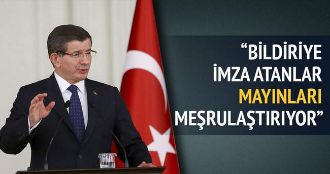 Başbakan Davutoğlu: Ne Ecrin var, ne Efe var, ne İrem var