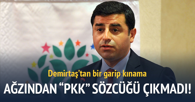 Demirtaş'tan 'Çınar saldırısı' açıklaması