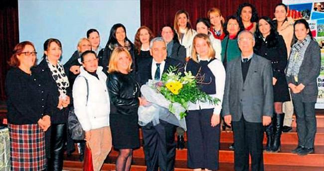 Tanınmış televizyoncu Adana Koleji'ndeydi