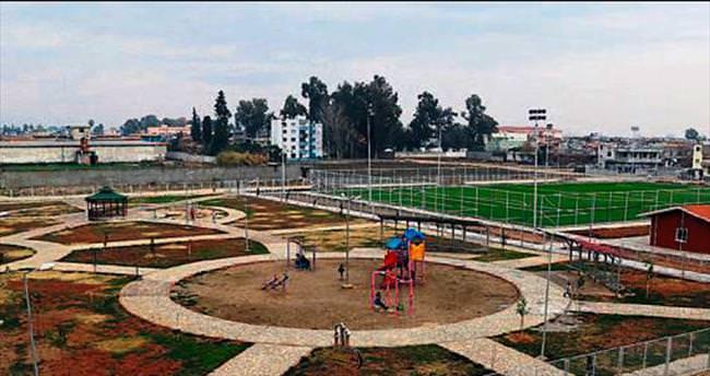 Doğankent spor tesisi tamamlandı