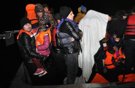 65 Suriyeli boğulmaktan kurtarıldı!