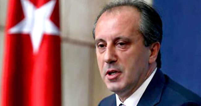 Muharrem İnce'den Kemal Kılıçdaroğlu'na ret!