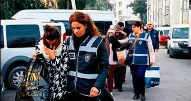 101 şüpheliden beşi tutuklandı