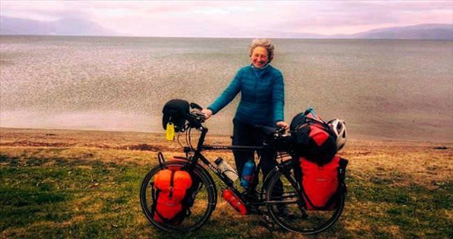 58 yaşında bisikletle dünya turu