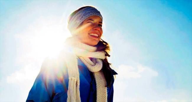Kış güneşi cildinizi kurutmasın