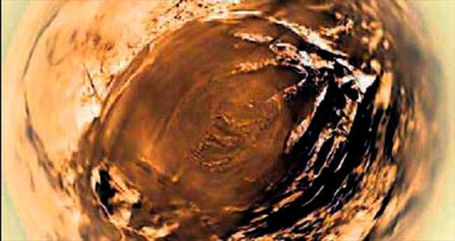 Satürn'ün uydusu Titan'da balıkgözü