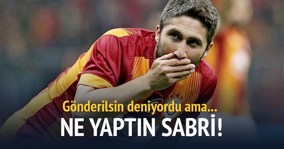 Sabri Sneijder'i yakaladı