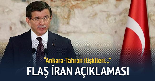 Davutoğlu'ndan İran açıklaması