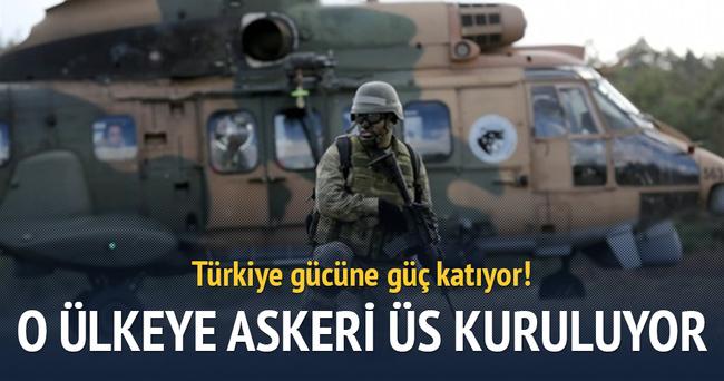 Türkiye'den Somali'ye askeri üs