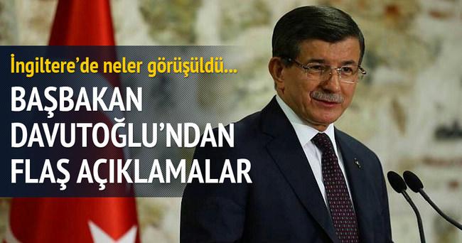 Başbakan Davutoğlu Londra Konferansı'nda konuştu