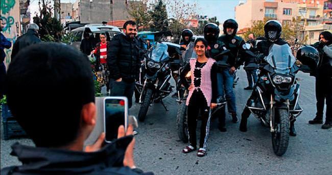 İzmir'in motosikletli Narkotimleri görevde