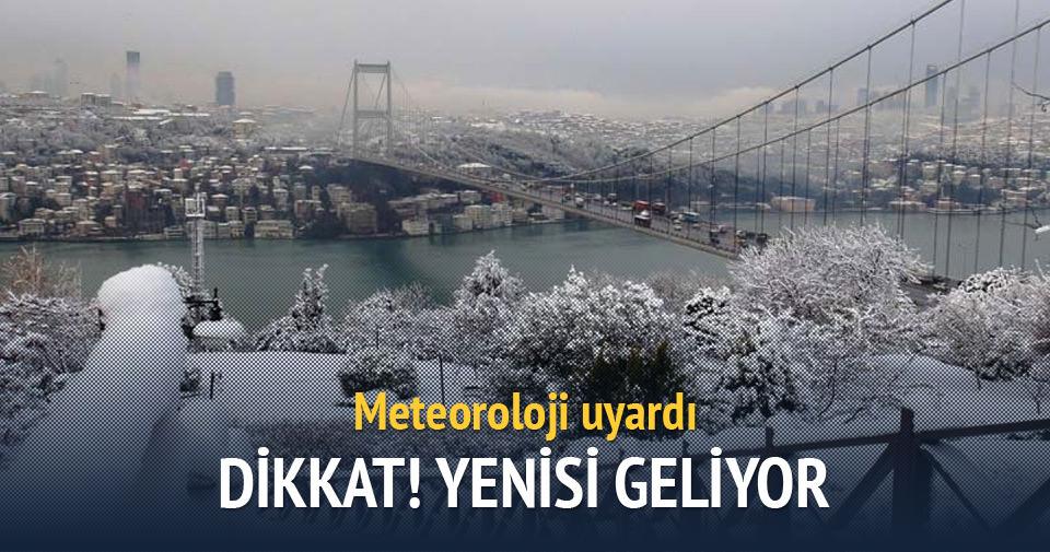 İstanbul'da Cuma günü kar yağışı bekleniyor