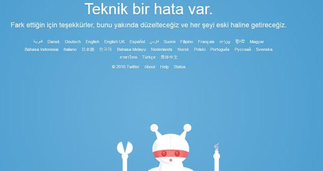 Twitter çöktü mü! Twitter'a neden girmiyor? - SON DAKİKA