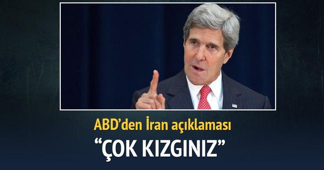Kerry'den İran açıklaması: Çok kızgınım