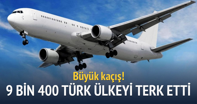 9 bin 400 Türk Rusya'yı terk etti