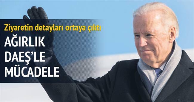 İstanbul ziyaretinde DAEŞ konuşulacak