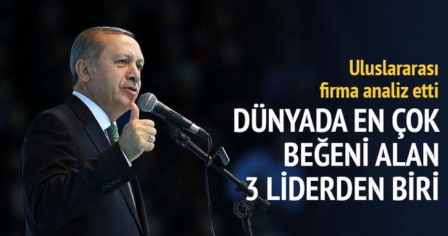 Dünyanın beğenisi Recep Tayyip Erdoğan