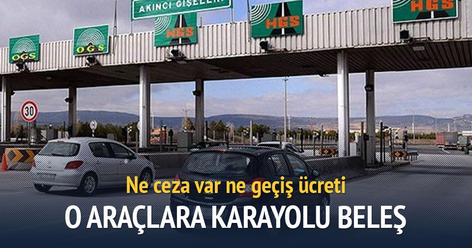 Yabancıya Türk karayolu beleş