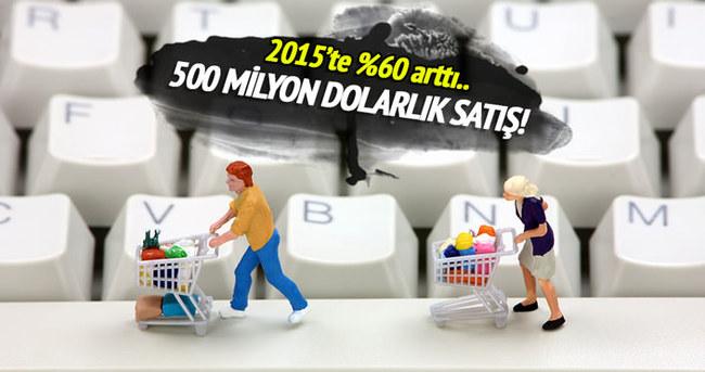 KOBİ'ler 2015'te internetten 500 milyon TL'lik satış yaptı
