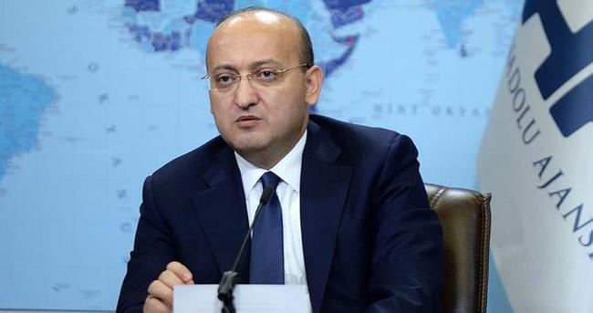 Akdoğan AA Editör Masası'na konuk oldu