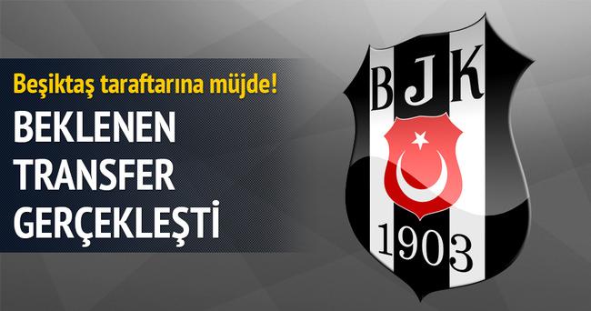 Beşiktaş o ismi transfer etti!