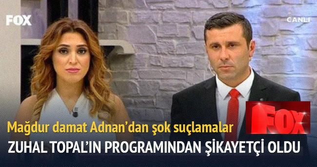 Mağdur damat Adnan'dan Zuhal Topal'la ilgili şok suçlamalar
