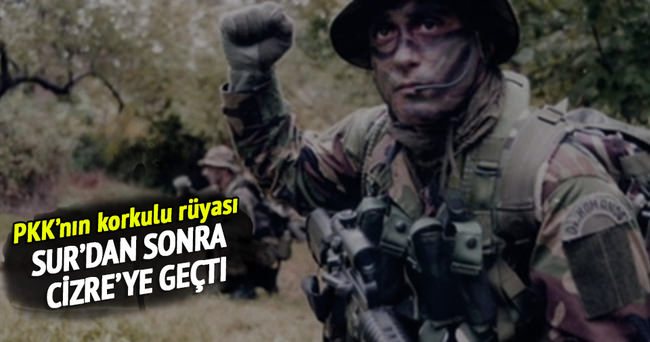 PKK'nın korkulu rüyası Cizre'ye girdi!