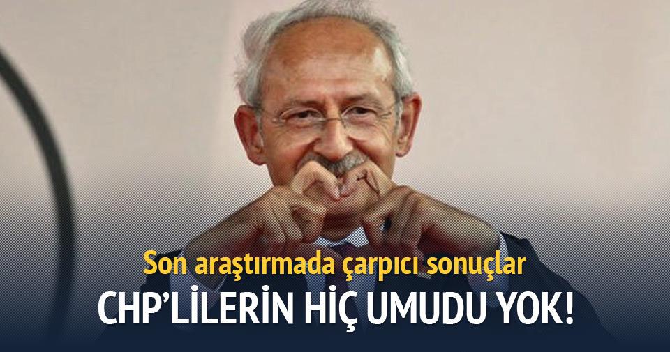 CHP'lilerin yüzde 54'ü Kılıçdaroğlu'ndan memnun değil