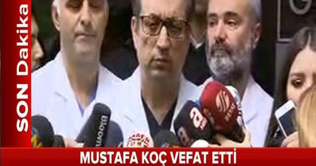 Mustafa Koç neden öldü?